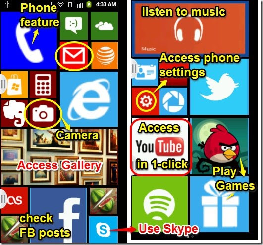 Aplikasi Windows 8 Launcher, Ubah Tampilan Android Menjadi Windows 8