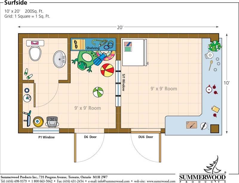 Plans for 20 x 20 shed gh sheds for Shed floor plans design