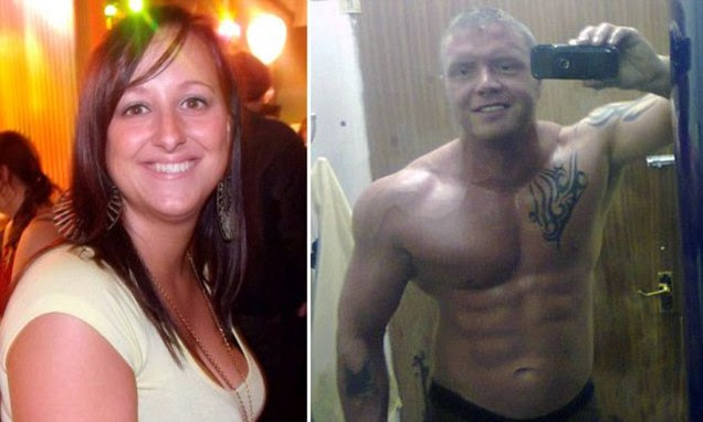 Tragic Gabrielle Stanley, 28, was brutally knifed at the home she had shared with steroid user Simon Hall, 36, on October 26 last year