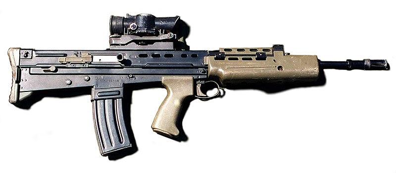 Ficheiro:SA-80 rifle 1996.jpg