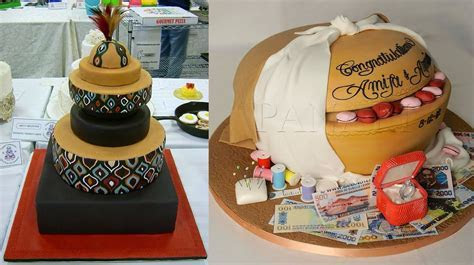 These Ghanaian Traditional Wedding Cakes Are Spectacular