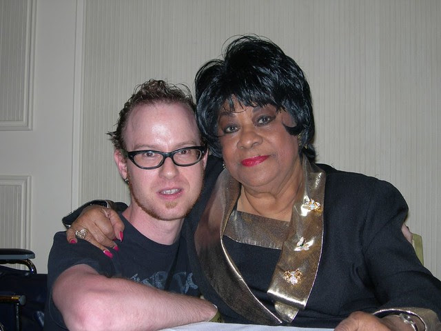 Me meeting Ruth Brown