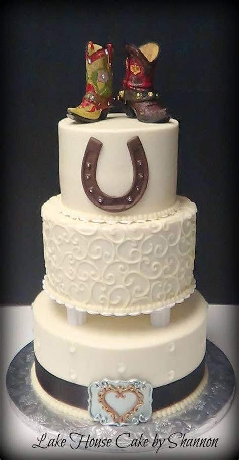 ideas  cowboy wedding cakes  pinterest