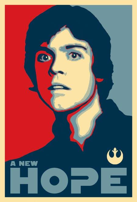 A New Hope - Luke Skywalker Poster