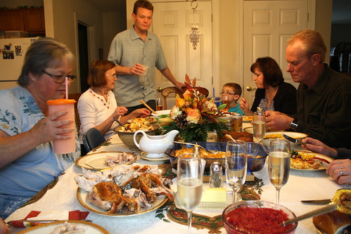 Thanksgiving chaos at the table