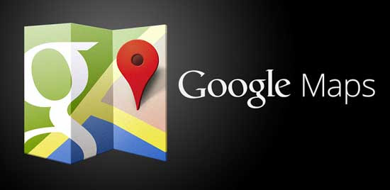 Image result for maps google logo
