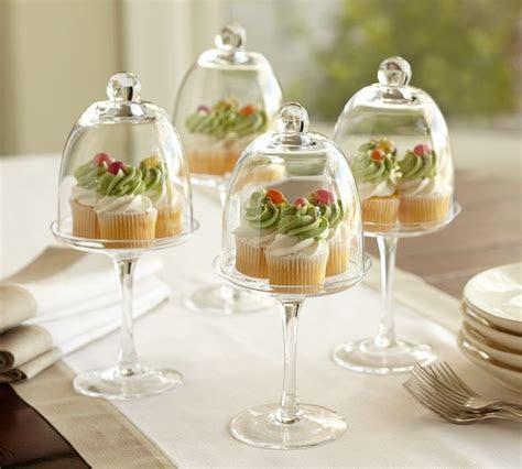 Cupcake glass dome   frank wedding