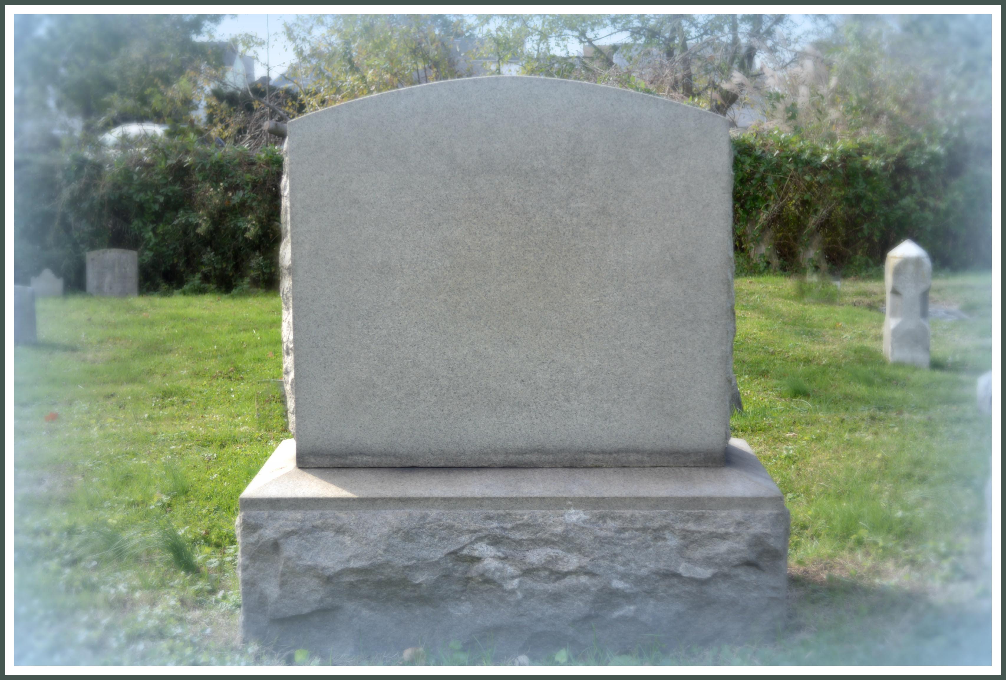Blank headstone pictures – cbeo