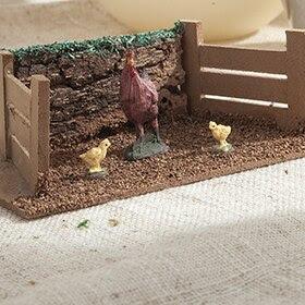 Corral de aves de 15,5x9x7,5cm