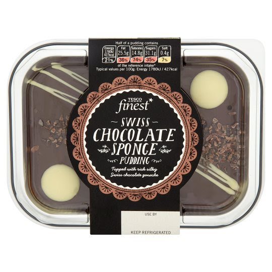Finest Swiss Chocolate Sponge Pudding 200G