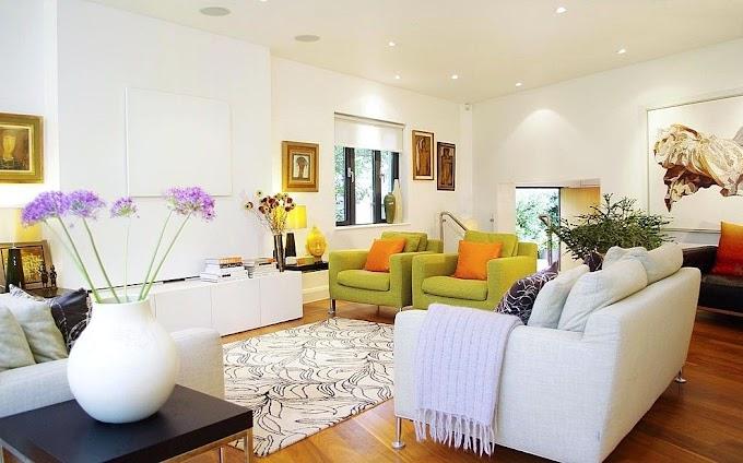 Cat Ruang Tamu Terbaru   Ide Rumah Minimalis