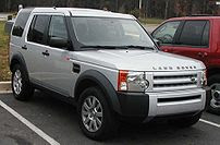 2007 Land Rover LR3 photographed in USA.