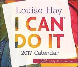Buy I Can Do It® 2017 Calendar: 365 Daily Affirmations (Calendars ...