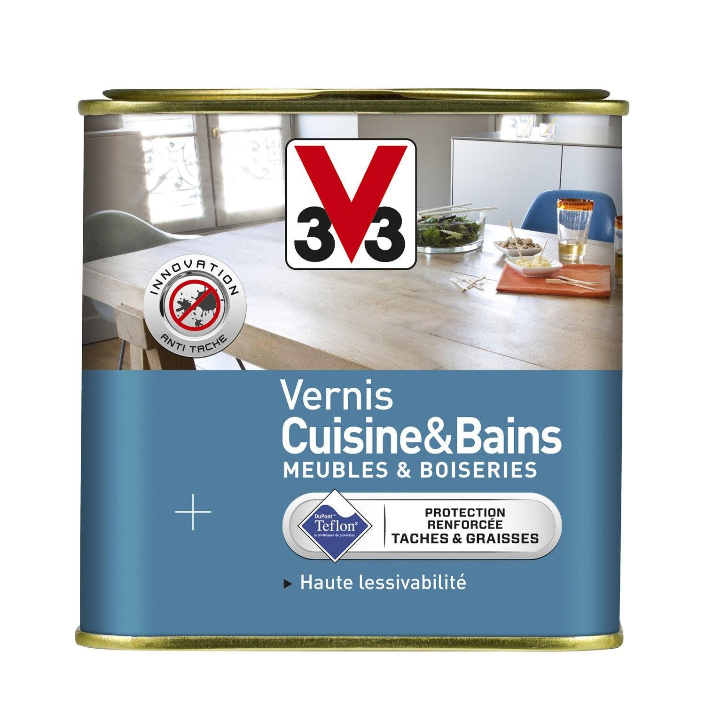 Vernis Cuisine Et Bain V33 075 L Incolore Leroy Merlin