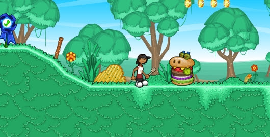 As if Pizza wasn't enough, Now his burgers have come to life in Papa Louie 2: When Burgers Attack! #PapaLouie #PlatformingGames #FlashGames