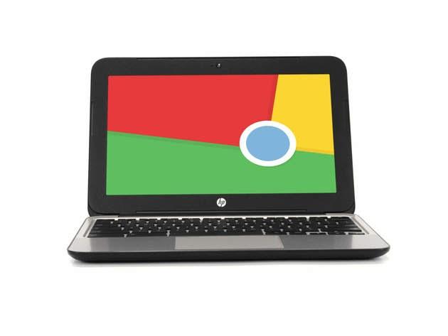 "HP Chromebook 11 G4 Chromebook, 2.16 GHz Intel Celeron, 2GB DDR3 RAM, 16GB SSD Hard Drive, Chrome, 11"" Screen (Grade B) for $128"