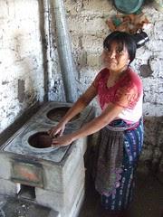 Santa Catarina Palopo repaired ONIL stove