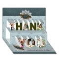 THANK YOU 3D Card (7x5)