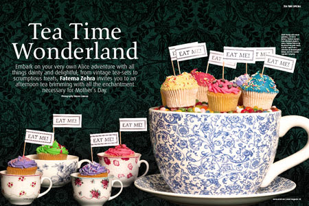 Tea Time Wonderland Ideas For Mothers Day Food Life Style