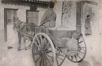Russian Rocket Powered Horse or a Russian soup wagon from the Russo-Japanese war, 1904. photo by J. Martin Miller.
