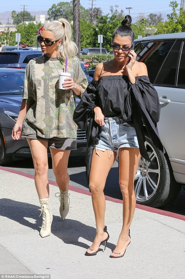 Know their stuff: As the experienced mamas in the family, mother-of-two Kim and mother-of-three Kourtney will be certain to volunteer to help their sisters