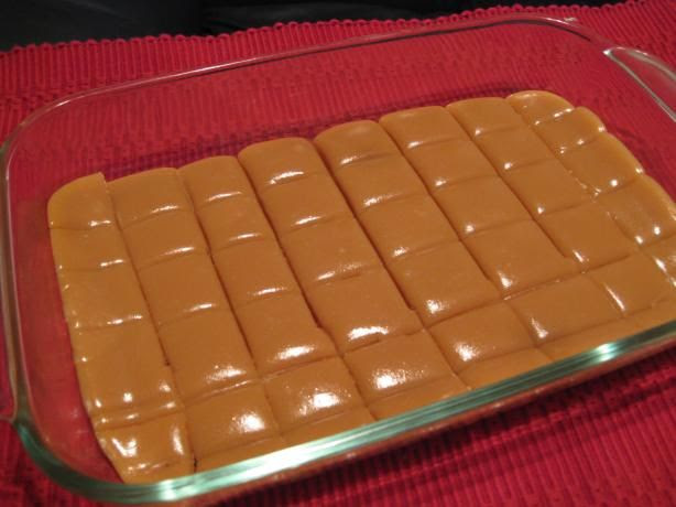 Microwave Caramels--literally mix ingredients and stir...wow!  I will have to try this.