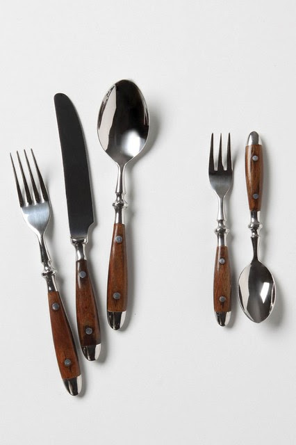 Seaborne Cutlery - traditional - flatware - by Anthropologie