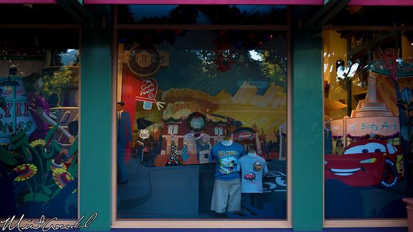 Disneyland Resort, Downtown Disney, World of Disney, Window, Display, Christmas, Christmas Time