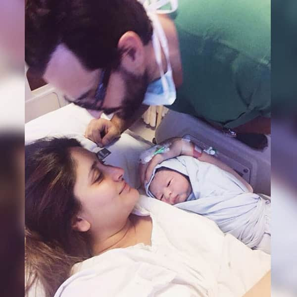 Kareena Kapoor Khan's picture with her baby Taimur Ali Khan revealed