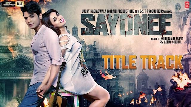 Sayonee Lyrics - Arijit Singh, Jyoti Nooran ! Sayonee