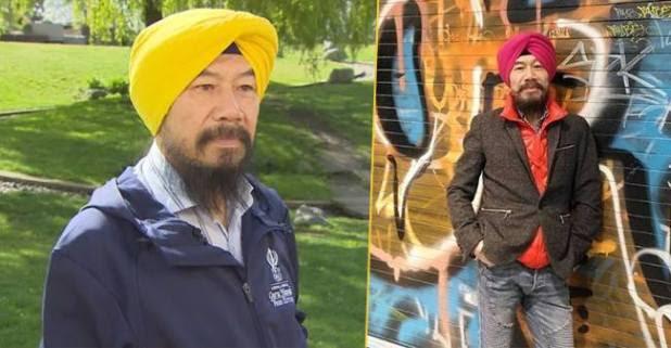 A Chinese Man Embrace Sikhism, Serves In Guru Nanak's Free Kitchen
