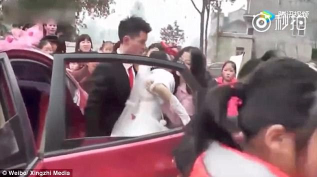 While different media suggested different reasons for the incident, the couple said they had not been arguing with each other, but with the 'greedy' chauffeur