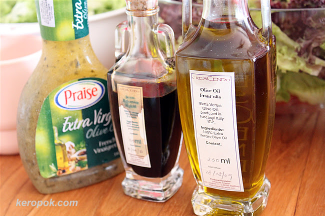 DG's collection of exquisite olive oil and balsamic vinegar