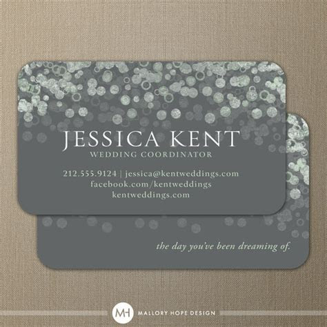 Champagne Bubbles Business Card / Calling Card / Contact