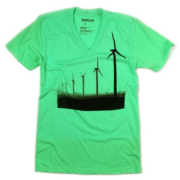 Raygun Windmills V-neck