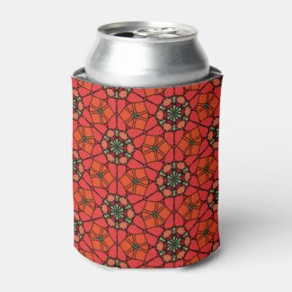 Stained Glass Look Can Cooler