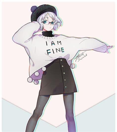 image  fashion  anime girls  shiro mew
