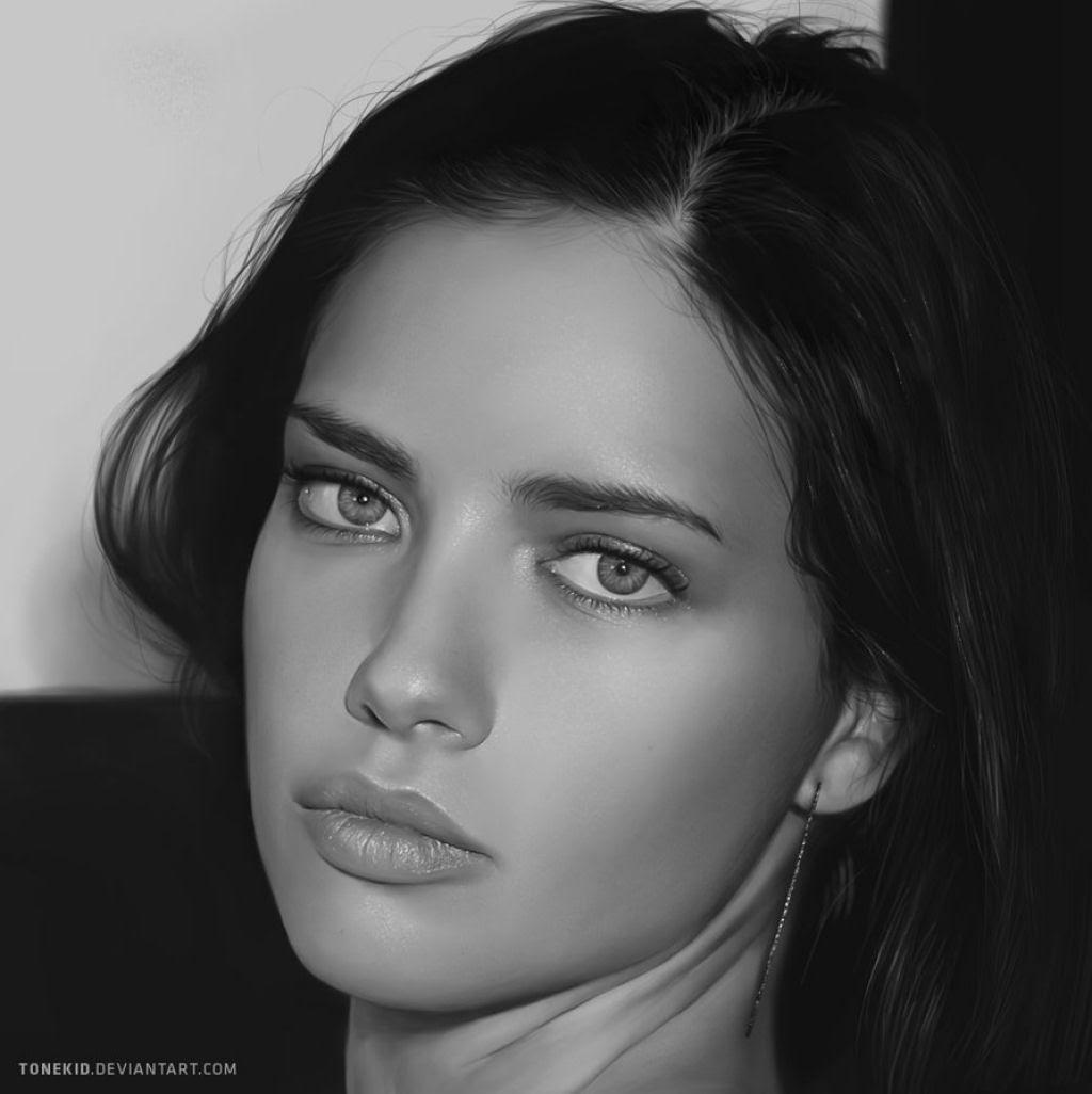 40 obras-primas da pintura digital de celebridades 01