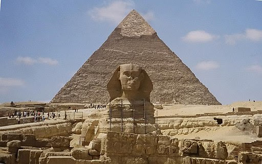 General Custer - Sphinx and pyramid (by)