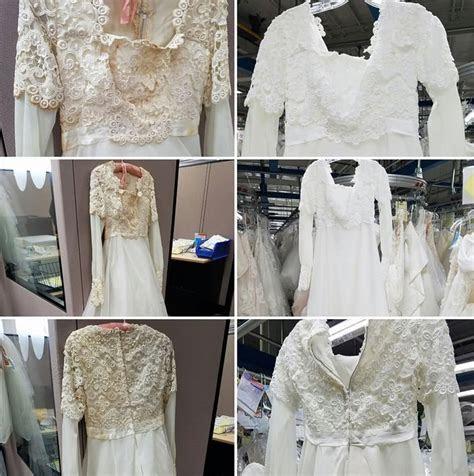 Wedding Dress Restoration Gallery   Mud, Grass, Wine, Food