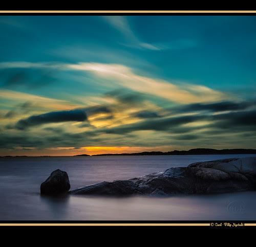 Sunset - Vikarna por Filip Nystedt