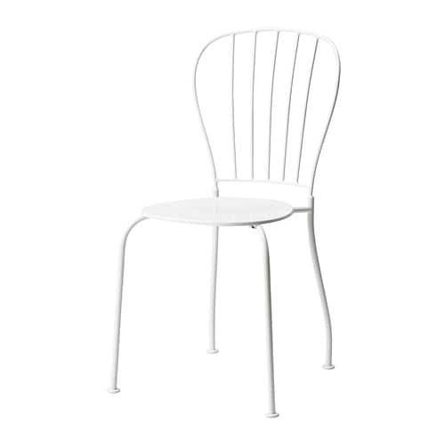 LÄCKÖ Tuoli IKEA Vesi valuu pois istuimessa olevan reiän kautta. Säädettävien jalkojen ansiosta seisoo tukevasti myös epätasaisella alustalla.