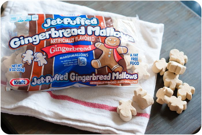 JET_PUFFED Gingerbread Marshmallows