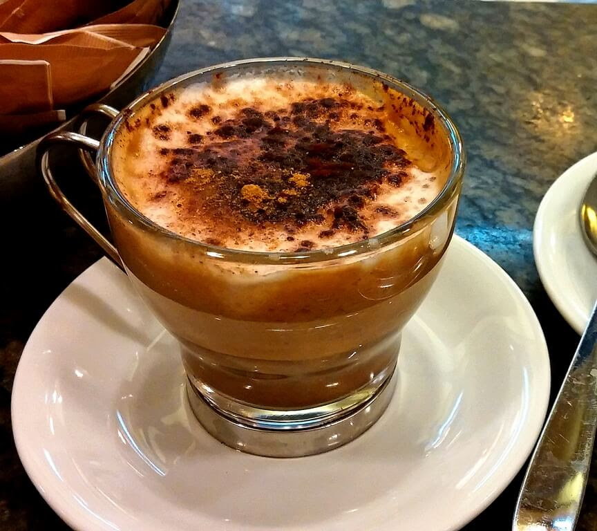 Probably the best coffee in the world, Tazza d'Oro in Rome
