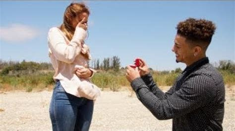 Video   THE BEST PROPOSAL OF ALL TIME!!! (JUMPING OUT OF A