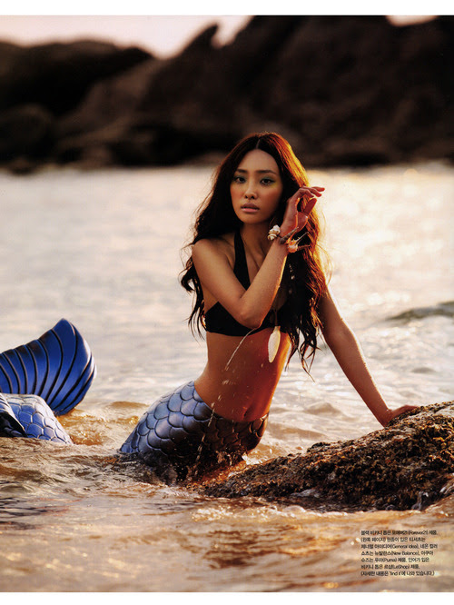 Korean Vogue, July  yummyhunny:  I told you there ARE mermaids !