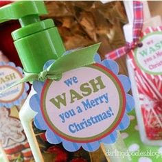 Handsoap Neighbor Gift {Free Printable} | best stuff