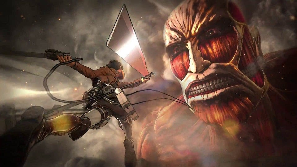 Colossal Titan Attack On Titan Wings Of Freedom Wiki Guide Ign