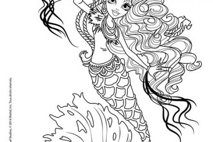 Coloriage Monster High Draculaura A Colorier Dessin De Draculaura