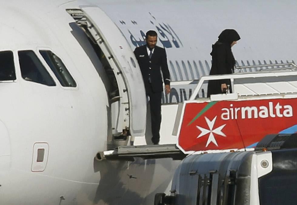 Sequestro avião líbio Malta